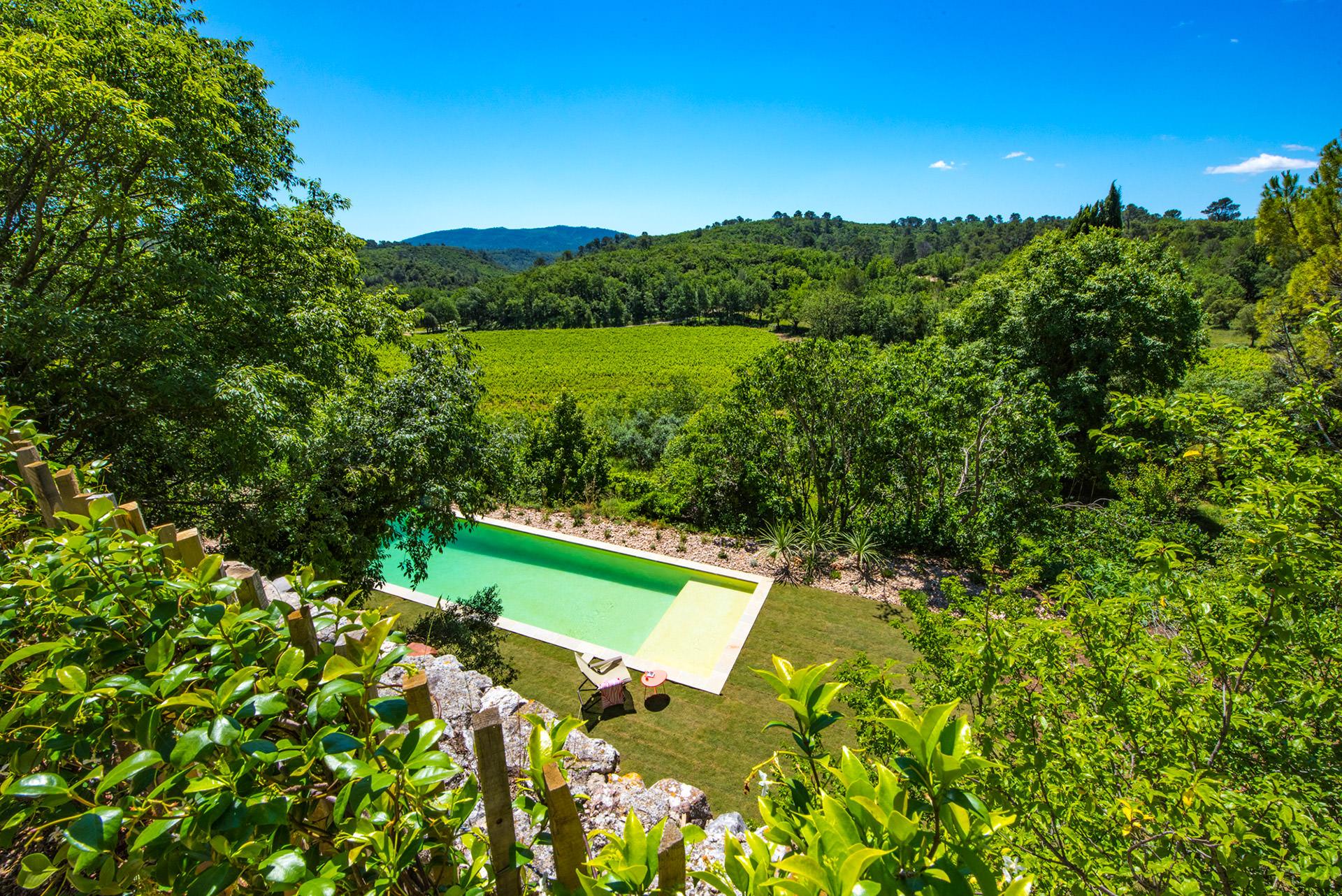gite piscine Provence