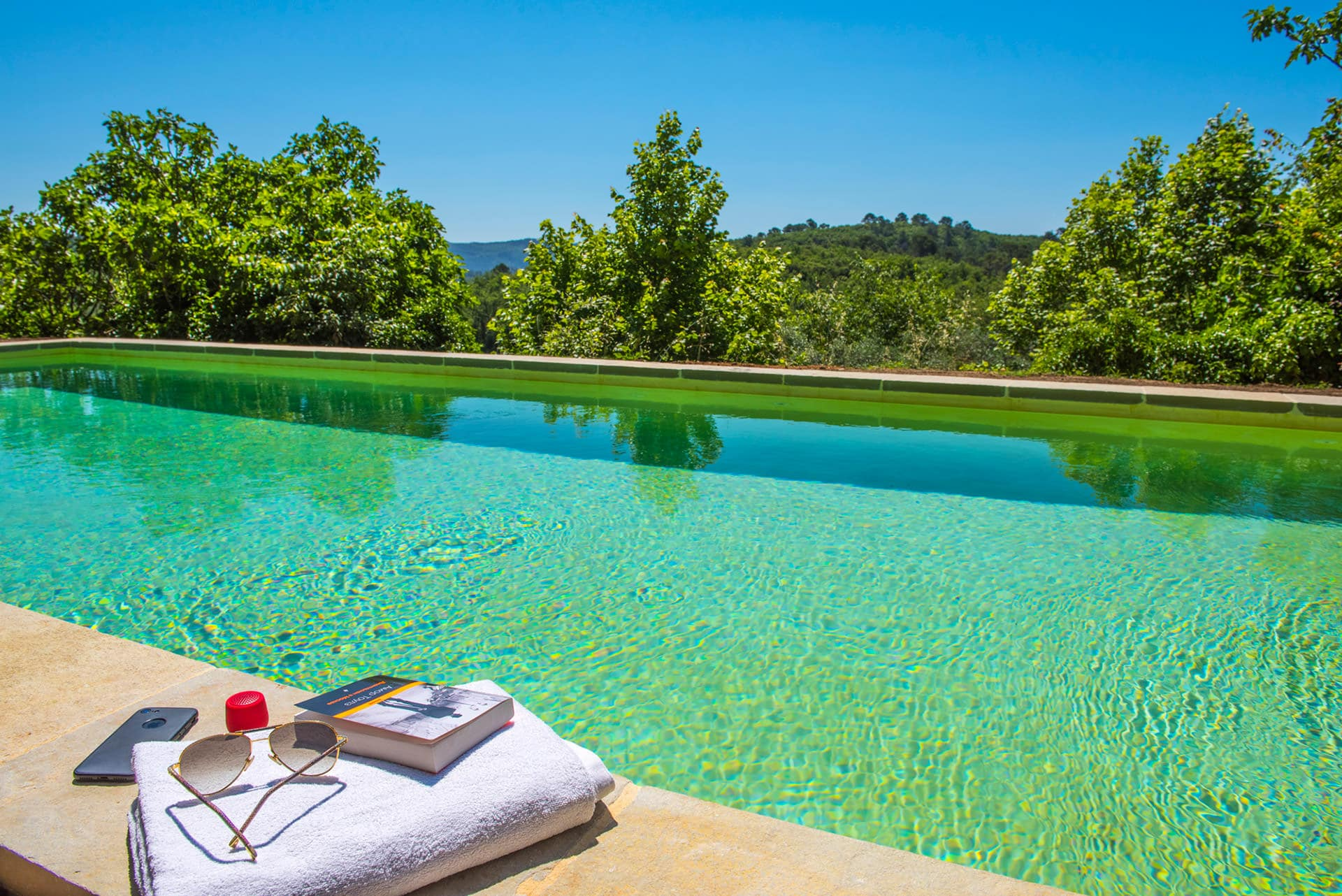 piscine location vacances Var Provence