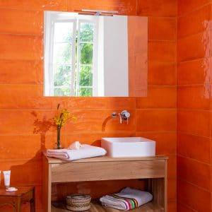 salle de bain gite location appartement meublée