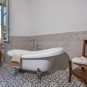 salle de bain gite appartement meublée